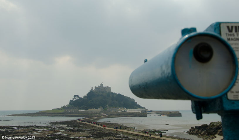 St. Michaels Mount, Cornwall, England.