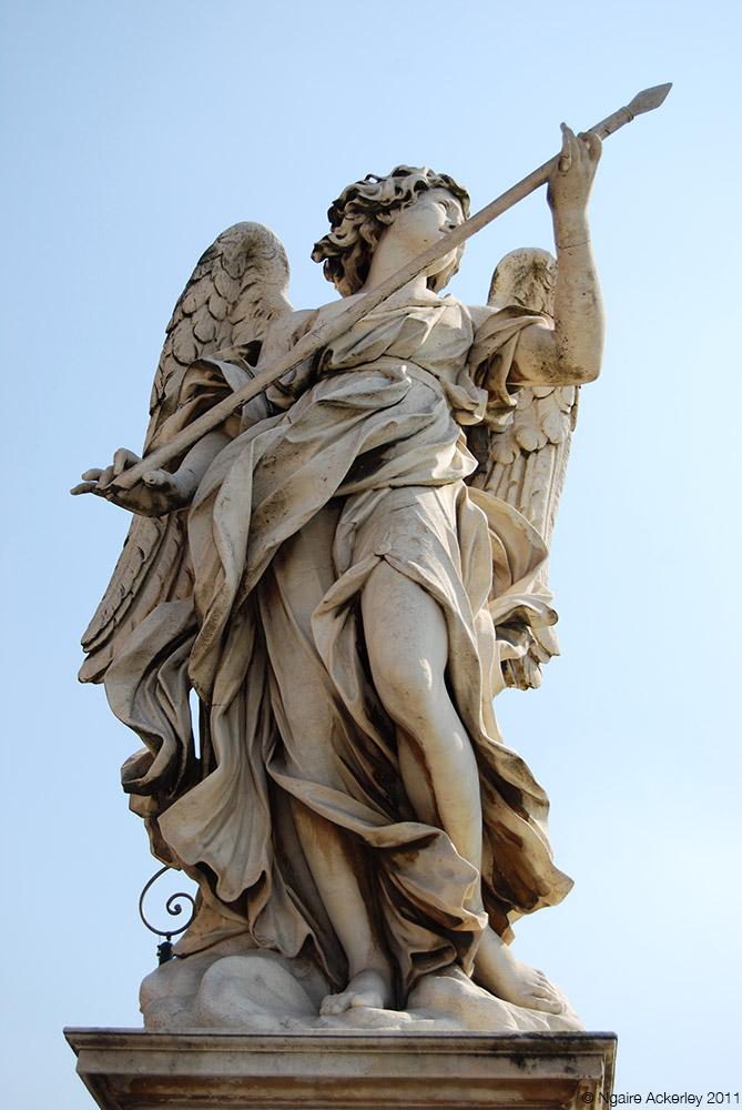 Statue, Rome, Italy.