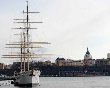 Ship, Stockholm, Sweden.