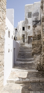 Streets in Naxos, Greece