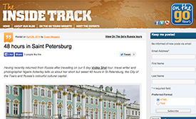Article about 48 hours in Saint Petersburg