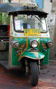 Tuk tuk, Bangkok, Thailand.
