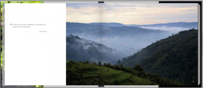 Footprints through East Africa - Uganda, landscape