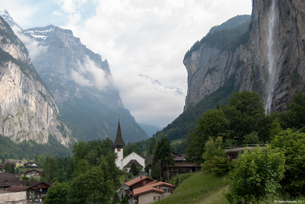 Valley of Lauterbrunnen, Switzerland.