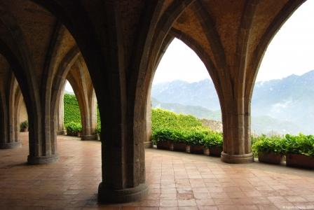 Villa Cimbrone Crypt, Ravello, Italy.