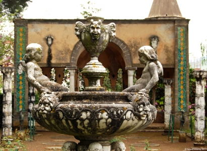 Fountain, Villa Cimbrone, Ravello, Italy.