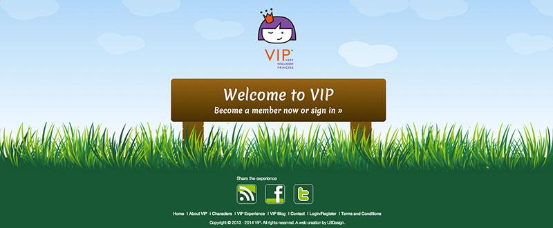 Website footer illustration