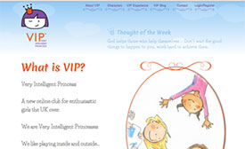 Very Intelligent Princess Website