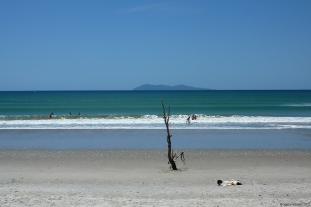 Waihi Beach, New Zealand.