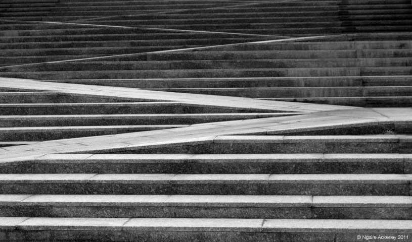 Stairs, Swansea, Wales.