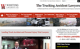 The Trucking Accident Lawyers site