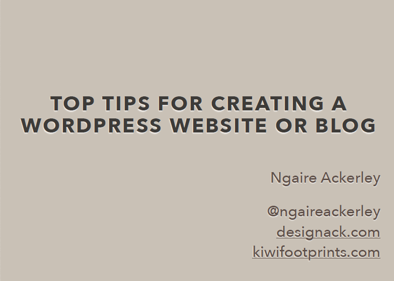 Top Tips for Creating a WordPress Website or Blog