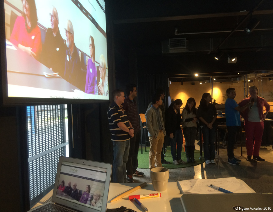 Presenting at Impact NPO