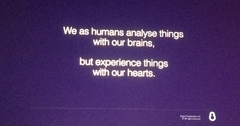 Experience with our hearts
