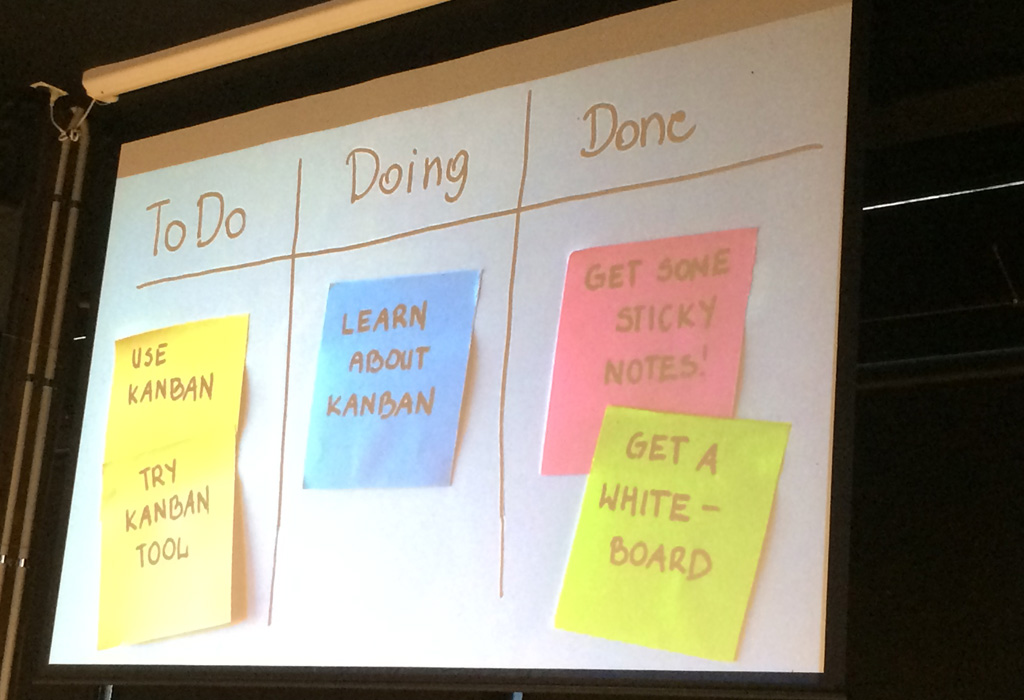 Dee Teal - Kanban Boards, great idea!