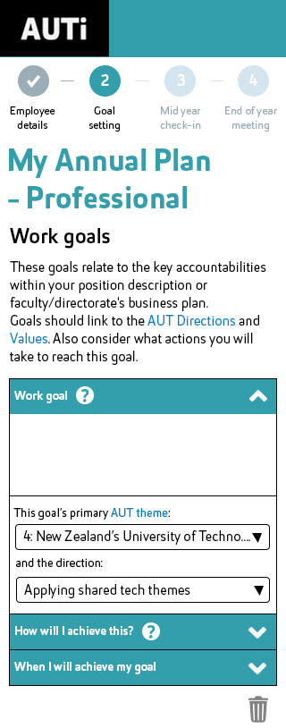 Mobile example for Professional Annual Plan